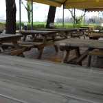Nuovi Tavoli BAR Centro Vacanze La Risacca GLU Cafè